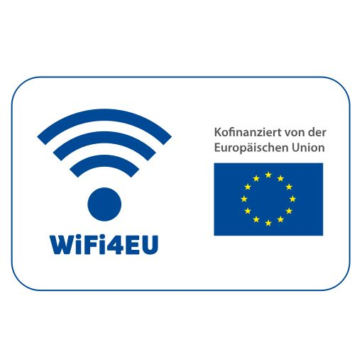 WiFi4EU picto European Union blue